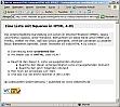 Screenshot Liste mit Squares in HTML 4.01 Strict im Internet Explorer